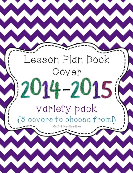 Book Cover Design Lesson Plan : Lesson plan books the new school and year on