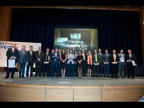 Gala completa de entrega de los II Premios Castilla y León Económica al Mejor Directivo - YouTube