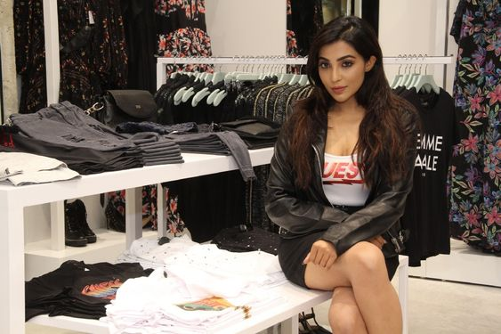 Actress Parvathy Nair Inugurate Guess Shop In VR Mall