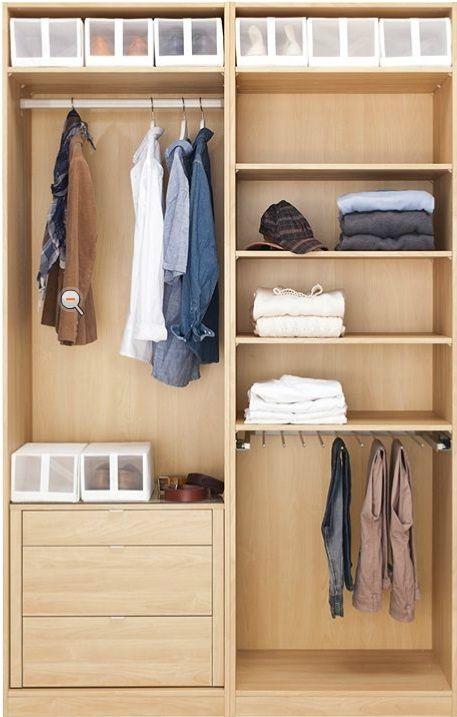 Resultado De Imagen Para Modelo De Closet De Cemento Bedroom Closet Design Bedroom Cupboard Designs Wardrobe Room