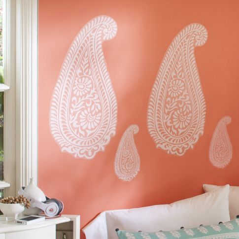 Boho Paisley Wall Decal