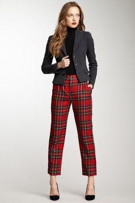 Fall Fashion Favorites: Plaid Pants