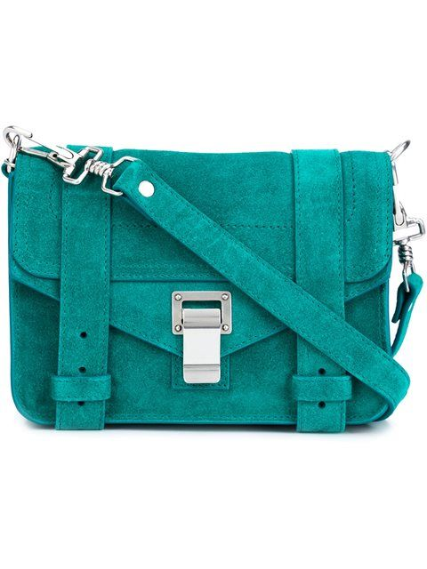 Shop Proenza Schouler  'PS1 Mini' crossbody bag in Gretta Luxe from the world's best independent boutiques at farfetch.com. Shop 400 boutiques at one address.