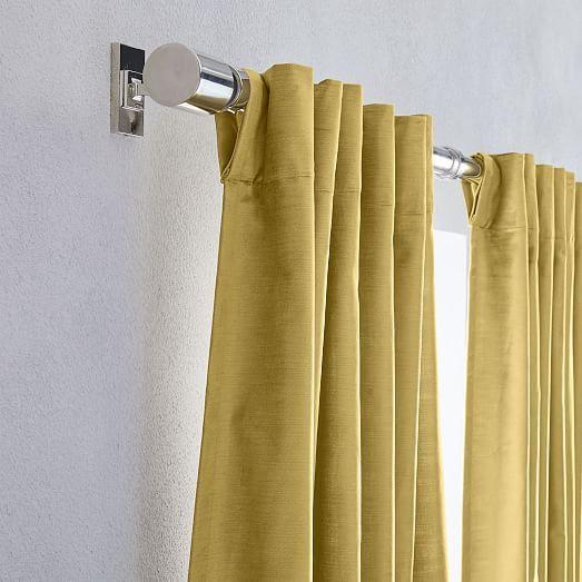 Echo Print Curtains Set Of 2 Gold Dust In 2020 Curtains