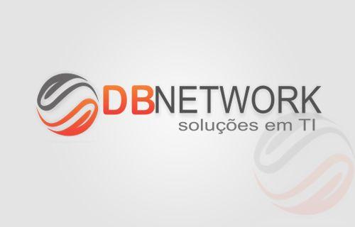 Criação: Logo para empresa de Manutenção Rede e serviços de infraestrutura de TI - DB Network