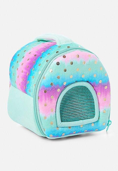 Pet Shop Ombre Foil Dot Pet Carrier Justice Pet Shop Tween