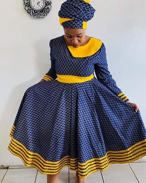 Traditional South Africa Patterns For Wedding In 2020 African