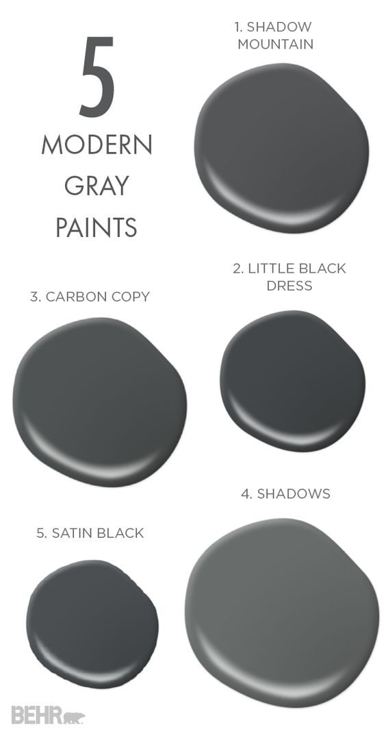 Nothing beats a bold neutral and that s what these 5 for Modern neutral paint colors