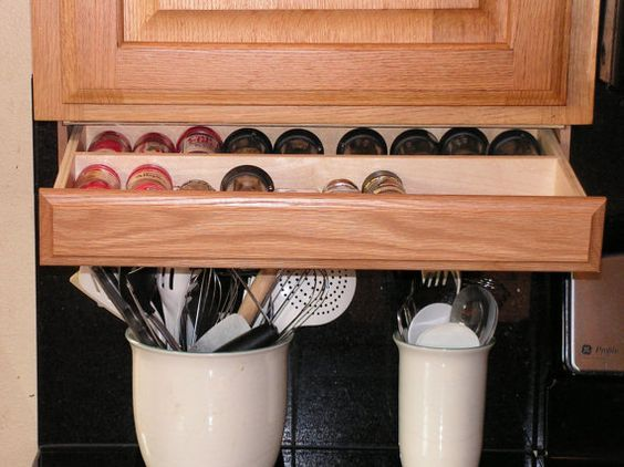 Add Storage To Your Kitchen By Adding This Drawer Underneath Your