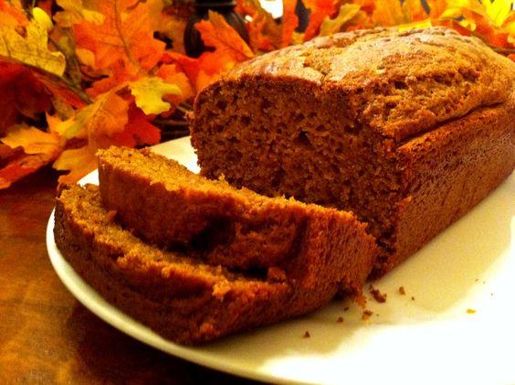 Simple & Delicious Pumpkin Bread! #pumpkin #amylouskitchen