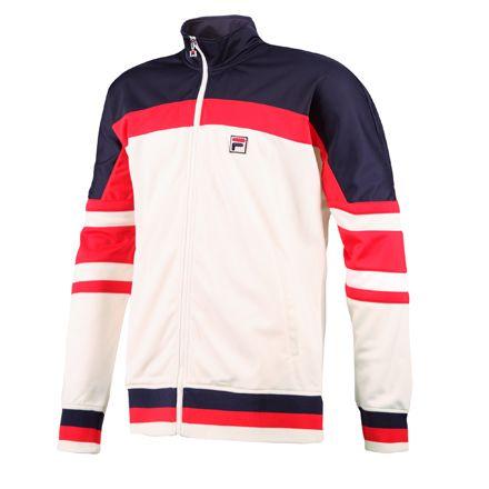Men's Retro Jacket by Fila.  #tennis