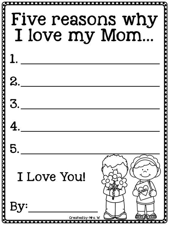 Love my mom essay