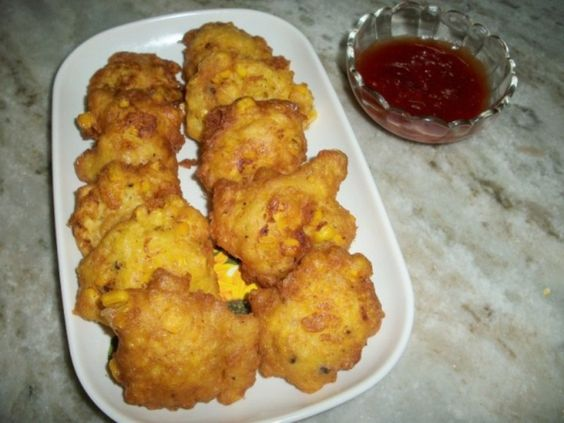 Fried Sweet Corn Nuggets    This lady's recipe saved my lazy butt from having to leave my house and for that I thank her.