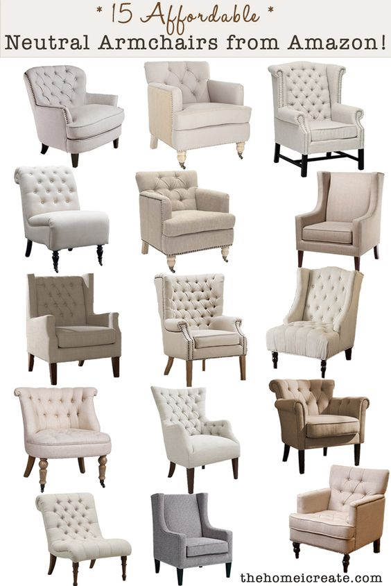 15 Affordable Armchairs From Amazon Trendy Home Decor Accent Chairs For Living Room Affordable Furniture