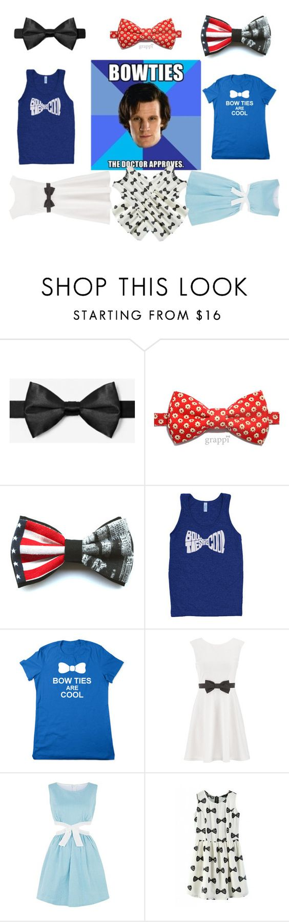 """""""Doctor Who - Bow Ties (Semi-Collection)"""" by emsdragonoffire ❤ liked on Polyvore featuring maurices and Cutie"""
