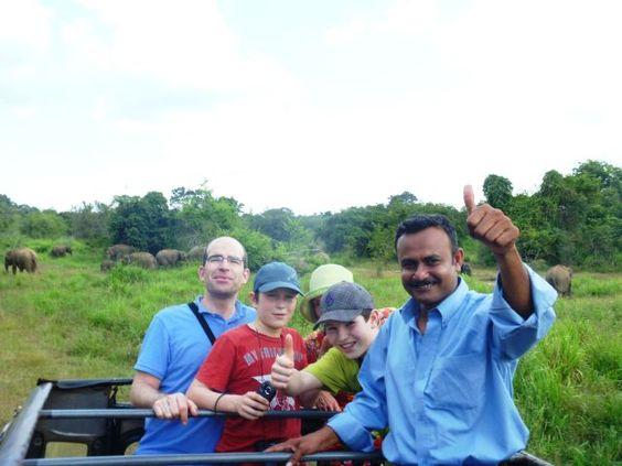 Enjoy with safari Sri Lanka
