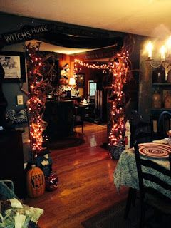 Tons of cute Halloween decor