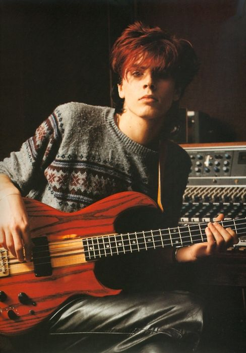 Love John Taylor's red hair: