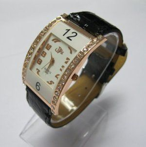Fashional Diamond Watch Sports Quartz Wrist Watch Women Students Gift Wristwatches Black by Maxwell. $11.99. Beautiful wrist watch can wear as wrist adornment. Display: Analog. It comes with the imitate diamond, looks very nice. Movement: Quartz. Features: This is fashional wrist watch. It is the best choice for gift. Style: Wrist Watch Condition:100% Brand NewType: Fashion Display: Analog Color: As the picture show, muticolor avaiableBand Material: PU Leahter...
