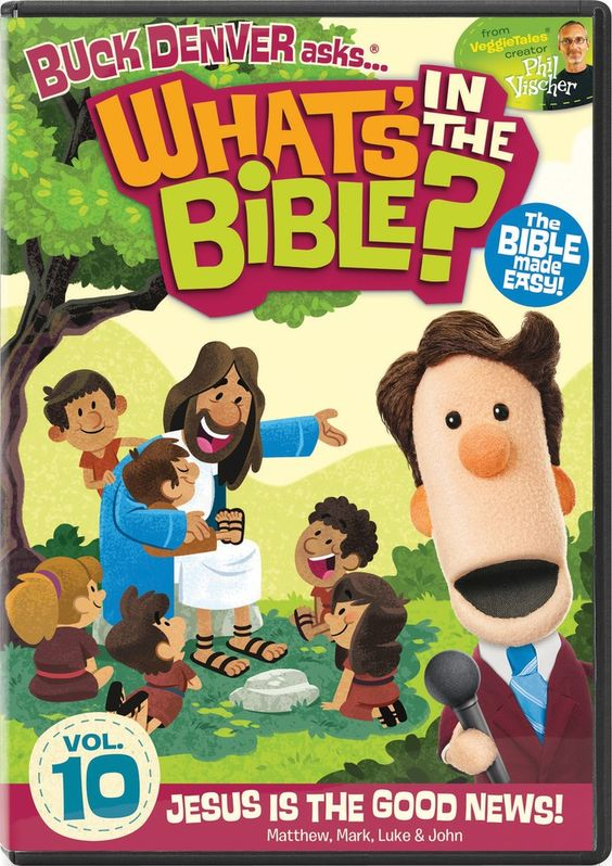 Host Buck Denver and his friends make understanding the Bible easy What's in the Bible? Volume 10: Jesus is the Good News!
