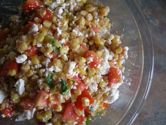 Thy Hand Hath Provided: Tomato Corn Salad