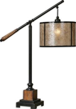 Uttermost Sitka Lantern Table Lamp 36h shade12dia