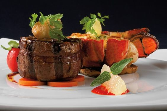 """New Carnival cruise dinner menu """"America Table"""" and """"American Feast"""" with ports of call inspired dishes"""