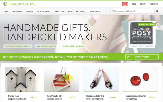 Handmake Me Is An Ethical Marketplace For Handmade Gifts