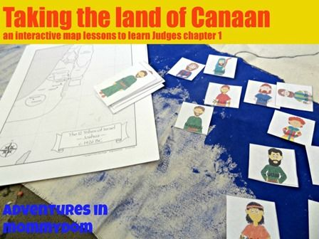 Taking the land of Canaan lesson | The end, Old testament and End of
