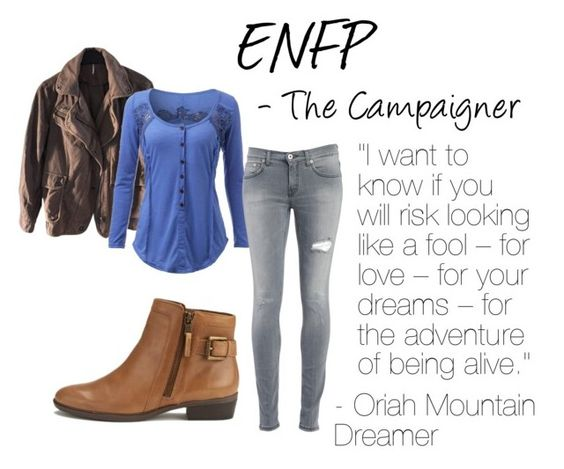 """ENFP"" by emiade ❤ liked on Polyvore featuring Free People, Dondup and Lauren Ralph Lauren"