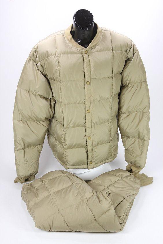 Cabelas Premier Goose Down Base Layer Jacket Amp Pants Mens