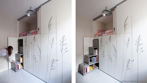 Mini appartamento a Parigi in 8 metri quadri