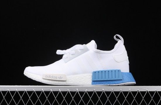 Adidas Nmd R1 J White Real Blue Ee6677