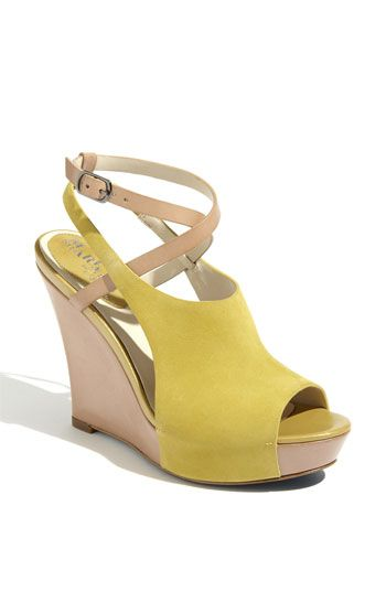 Air Gilda wedge / neon + neutral