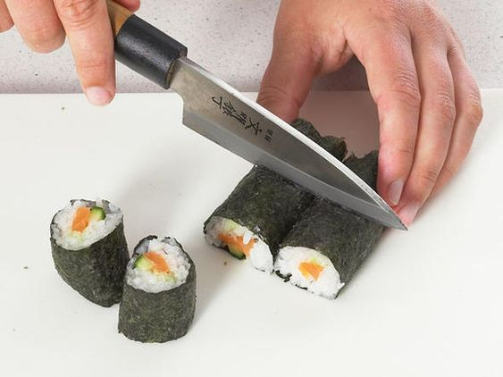 Sushi selber machen - Schritt 13: