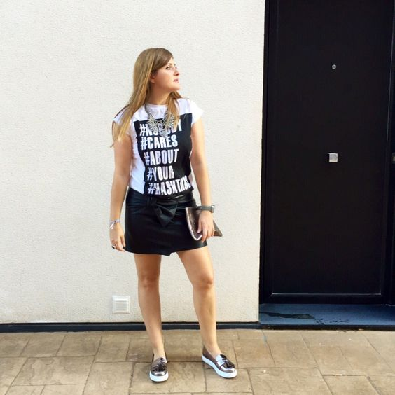 Black , white and silver | MISSMARAVILLAS
