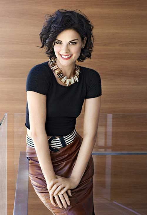 Marvelous Oval Faces Short Curly Hairstyles And Curly Hairstyles On Pinterest Short Hairstyles Gunalazisus