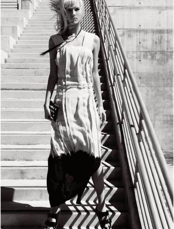New Power Rising  Publication: Elle UK December 2014 Model: Amy Hixson Photographer: Jan Welters Fashion Editor: Alison Edmond Hair: Dennis Gots