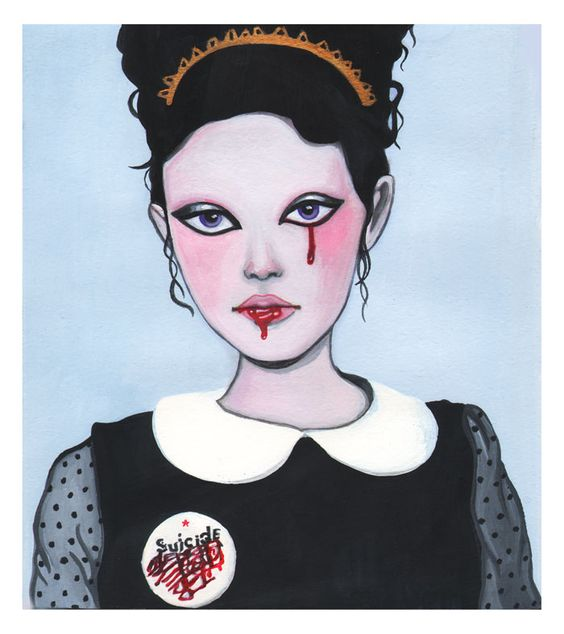 Pop surrealism, surrealism, lowbrow art, new contemporary art: Interview with pop surreal artist Ilaria Novelli