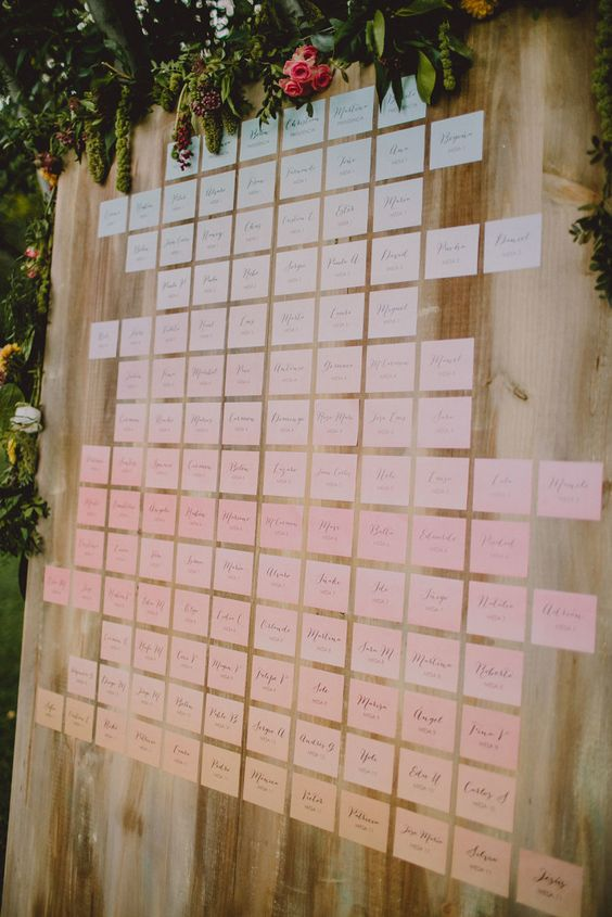 Decoración boda geométrica en All Lovely Party