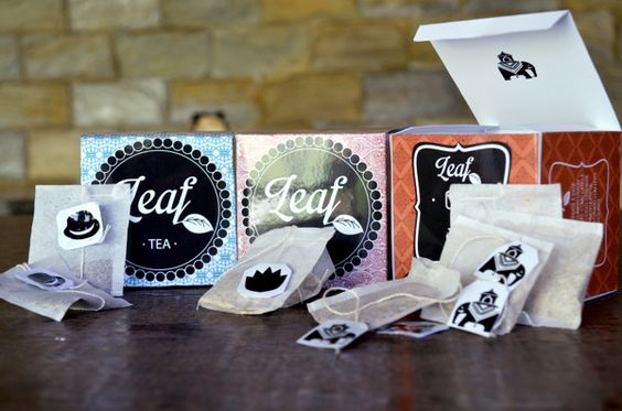Embalagem para Chá - Patterns by Luiza Zuim, via Behance
