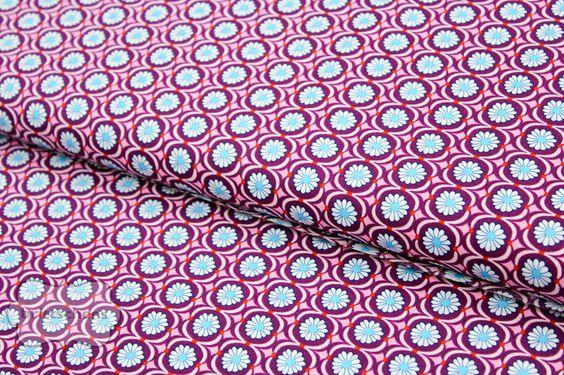 Betty Butter Popeline by jolijou - lila - 0,5m von Brittschens  auf DaWanda.com
