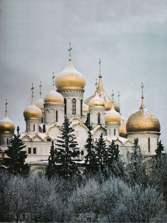 The Cathedral of the Annunciation, Moscow Благовещенский собор