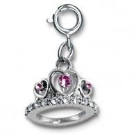 This lovely tiara charm fit for a princess will have you ready for the castle catwalk! With a simple snap of a clasp girls can personalize their CHARM IT! jewelry.