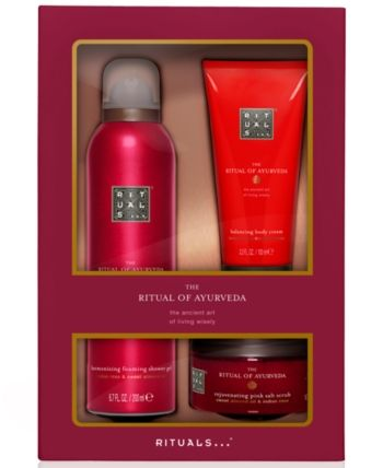 Amazon Com Rituals The Ritual Of Ayurveda Gift Set Medium Balancing Ritual Luxury Beauty Gift Sets For Her Ayurveda Massage Machine