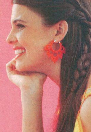 """Descrição da revista """"expert"""" número especial edição em fevereiro de 2013   Brincos """"As flores de Lotus"""""""