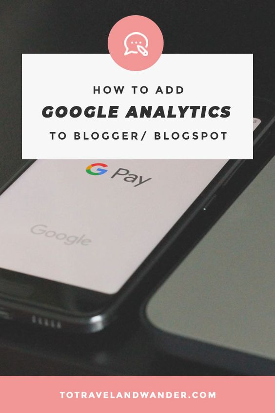 Infographic: How to Add Google Analytics to Blogger/ Blogspot