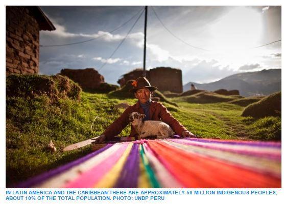 Accessed 11/18/14.  Indigenous people in Latin America improve political participation, but women lag behind, says UNDP.  http://www.undp.org/content/undp/en/home/presscenter/pressreleases/2013/05/22/pueblos-indigenas-en-america-latina-pese-a-los-avances-en-la-participacion-politica-las-mujeres-son-las-mas-rezagadas-segun-el-pnud/    Article (in English) about factors that have affected the participation of indigenous people in Latin America in politics.