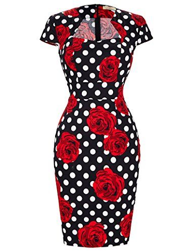 GRACE KARIN®Women Vintage Dress Cap Sleeve BodyCon 50... https://www.amazon.com/gp/product/B01IEIFSPQ/ref=as_li_qf_sp_asin_il_tl?ie=UTF8&tag=rockaclothsto-20&camp=1789&creative=9325&linkCode=as2&creativeASIN=B01IEIFSPQ&linkId=34f78c1d5914404f1a4be4857ea04f10