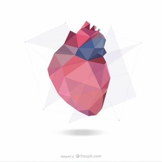 Abstract heart design